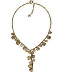 patricia nash mini coin women's necklace