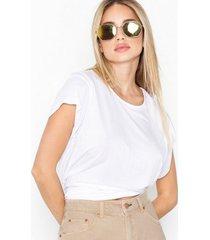 cheap monday screen knot top t-shirts