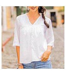 cotton tunic, 'flirty summer' (el salvador)