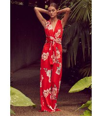 misa los angeles kimora jumpsuit poppy floral