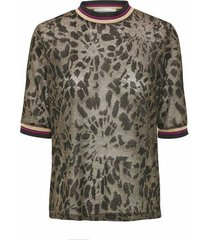 10702019 irma knit blouse black
