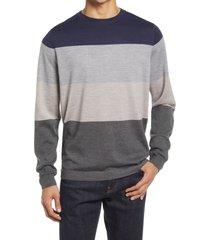 men's nordstrom tech-smart crewneck sweater, size x-large - blue