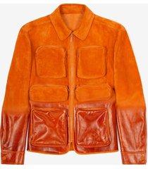 field jacket orange 50