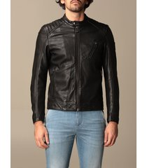 belstaff jacket belstaff leather jacket with zip