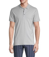 original penguin men's short-sleeve cotton polo - bridal rose - size s