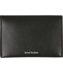 acne studios flap card holder