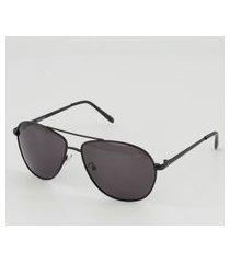 óculos de sol hang loose sun uv polarizado preto