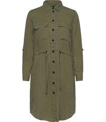 byecela shirt dress - kort klänning grön b.young