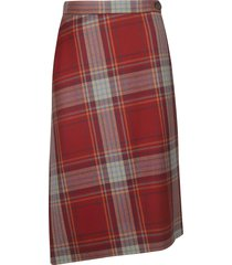 vivienne westwood checked skirt