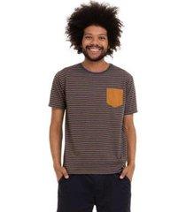 camiseta grupo avenida listrada masculina - masculino