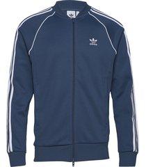 sst tt sweat-shirt trui blauw adidas originals