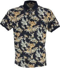 etro polo shirt with floral print
