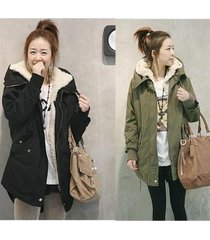 new fashion women winter jacket fur coat warm long coat fashion cotton jacket pl