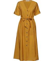ariennegz dress hs19 jurk knielengte geel gestuz