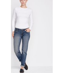 1856 stretch denim boyfriend jeans