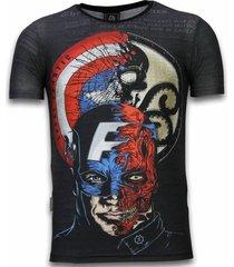 captain - digital rhinestone t-shirt