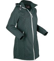 giacca lunga in softshell elasticizzato (petrolio) - bpc bonprix collection