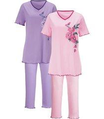 pyjama harmony roze/lila