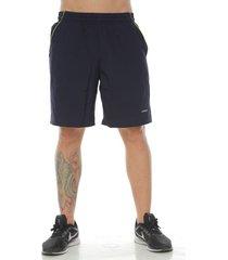 pantaloneta básica color azul oscuro para hombre