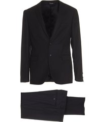 tonello black suit