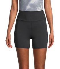 bb dakota women's spun out bike shorts - black - size xs