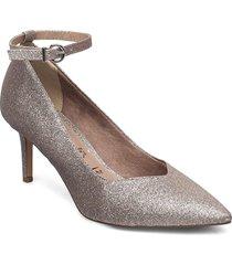 woms slip-on shoes heels pumps classic multi/mönstrad tamaris