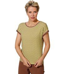 shirt mona geel::cognac