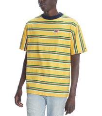 tommy hilfiger denim men's oversized martin stripe t-shirt