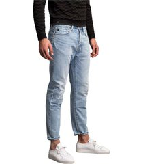 cuda relaxed tapered light wash jeans