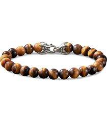'spiritual beads' tigers eye bracelet