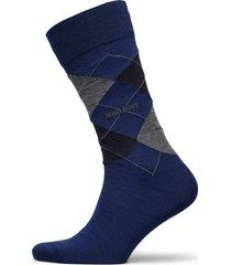 john rs argyle wo underwear socks regular socks blå boss