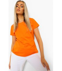 basic t-shirt, orange