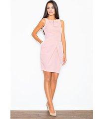 sukienka kalma m243 różowa