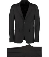 givenchy two-pieces wool and mohair suit
