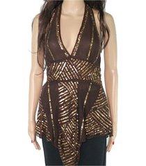 blouse halter embellished