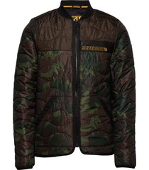 air corps padded liner jacket fodrad jacka grön superdry
