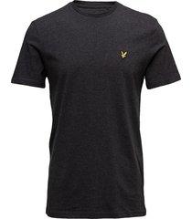 crew neck t-shirt t-shirts short-sleeved svart lyle & scott