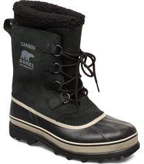 caribou shoes boots winter boots svart sorel