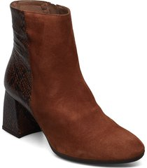i-7704 shoes boots ankle boots ankle boots with heel brun wonders