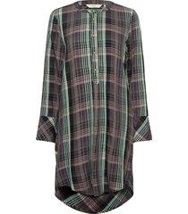 nubey bahira long blouse tunika multi/mönstrad nümph