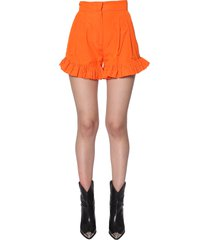 msgm ruched shorts
