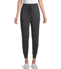 philosophy women's drawstring jogger pants - charcoal - size l