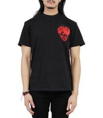jw anderson black face t-shirt