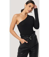na-kd basic body med en axel - black