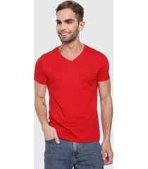 camiseta rojo tommy jeans
