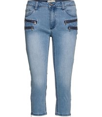 aida-ca-denim slimmade jeans blå free/quent