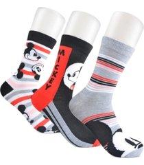 planet sox women's 3-pk. mickey mouse crew socks