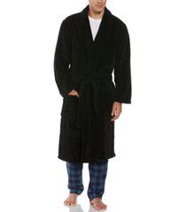 perry ellis men's plush banded robe