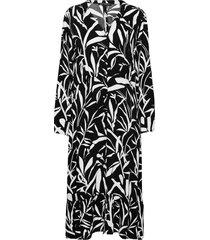 dress long1/1 sleeve knälång klänning svart betty barclay