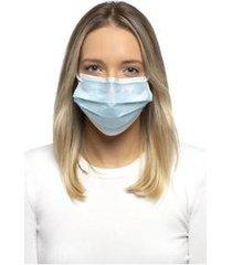 máscara descartável 3 camadas com elástico slow pff1 - 10 unidades